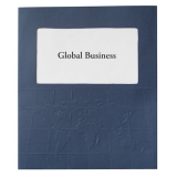 GBC Dexigner Folders, World Map