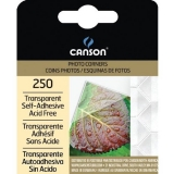Canson® Archival Self-Adhesive Transparent Photo Corners & Squares