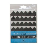 Canson® Archival Self-Adhesive Photo Corners, Black