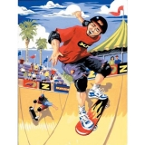 Paint by Numbers™ Junior Small Set, Skateboarder
