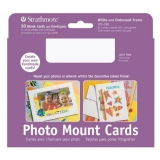 Strathmore Photo Mount Cards, 10-Pack, White