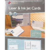 Maco Laser/Inkjet Business Cards, White