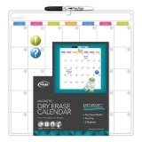 The Board Dudes Magnetic Dry-erase Cubicle Calendar