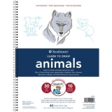 Book, Learn To Draw Animals